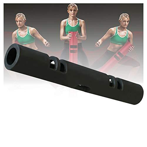 XPZ Tubo di Formazione per Fitness per Pesi 2-12kg, Barra di Formazione della Forza DPR, Una Palestra Domestica Adatta per La Formazione Fitness di Chiunque (Color : Black, Size : 2KG)