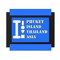 プーケット島タイ デスクトップフォトフレーム画像ブラックは、芸術絵画7 x 9インチ