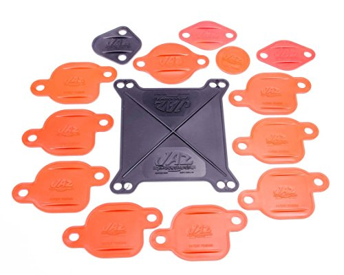 Jaz Products 730-002-01 Big Block Engine Block-Off Kit for Holley Carburetor # 4150