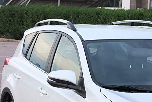 Dachreling passend für Toyota Rav4 Baujahr 04.2013-2018 in Chrom-Optik mit TÜV und ABE