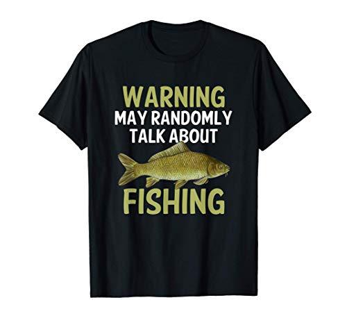 Funny Fishing Gift Common Carp Fisherman Freshwater Fish T-Shirt