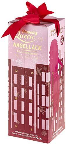 Der Shopping Queen Nagellack-Adventskalender für alle Fans der VOX Styling-Doku