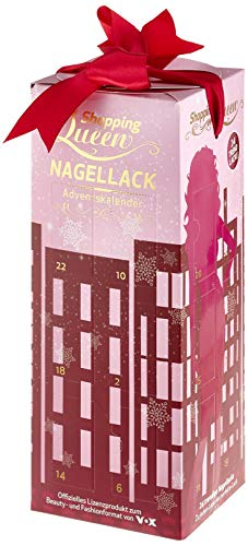 Der Shopping Queen Nagellack-Adventskalender für alle Fans der VOX Styling-Doku 'Shopping Queen'