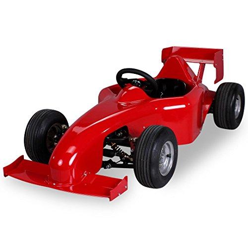 Kinder Elektro MF1 Rennwagen 1000 Watt rot Kinder Go-Kart Kinderbuggy Rennauto