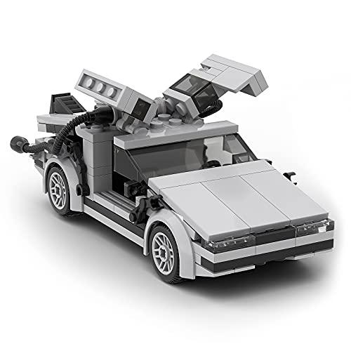 Modellino di Delorean Set da Costruzione, Ritorno al Futuro Film Classico Modello di Auto Giocattoli, Regalo per Fans, Adulti e Bambini (208 Pezzi)