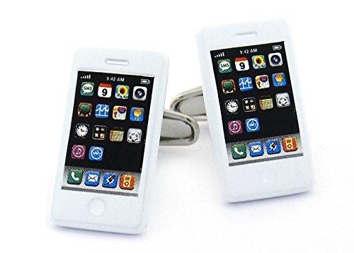 ROR Clothing boutons de l'iphone pour homme taille unique - Blanc - Taille unique