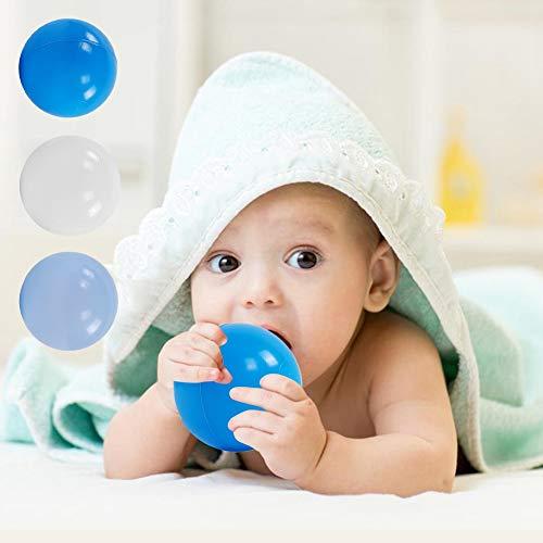 Pwshymi Bebé Niño Juguete de natación Bolas de Pozo oceánicas Reutilizables Juguetes para niños Cultivar el interés Uso en Interiores y Exteriores