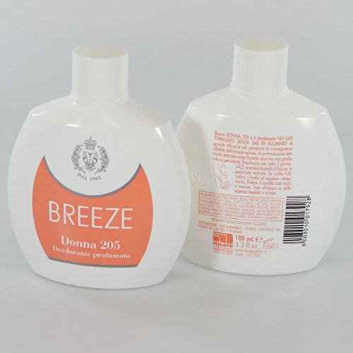 Breeze Deo Squeeze Donna 205 Ml.100