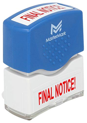 Final Notice Stamp – MasterMark Premium Pre-Inked Office Stamp