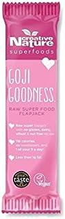 Creative Nature Goji Goodness Raw Superfood Flapjack 38g - Pack of 4