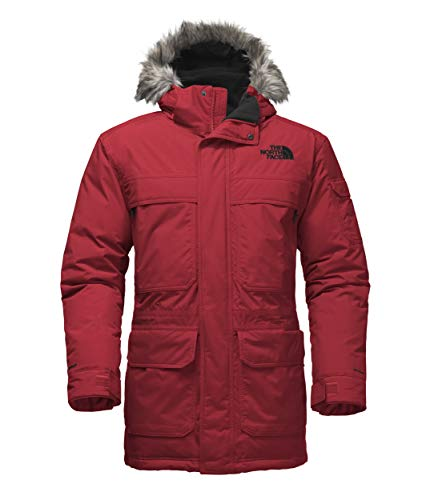 The North Face Men's McMurdo Parka III, TNF Red, Large