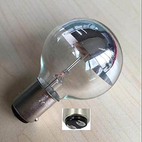 Xucus ba15d 15mm Base 24V 25W Medical shadowless lamp Bulb Insert Button Single Hole Cold Light Bulb Surgical Light Bulbs wy 24v 25w