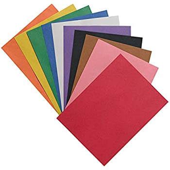 SunWorks 6523 Construction Paper 58 lbs. Pack of 50 Sheets Assorted 24 x 36