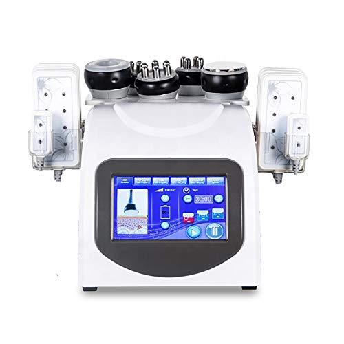 TXqueen 6 en 1 40K Cavitación y Radiofrecuencia LED Fotón Cuerpo Adelgazante Máquina Vacío Multipolar RF