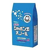 シャボン玉スノール 粉石けん 紙袋 2.1kg