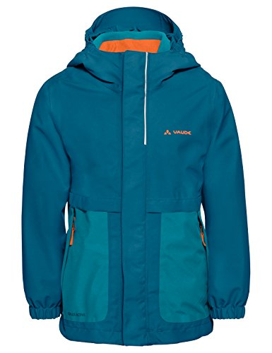 VAUDE Mädchen Kid´s Campfire 3in1 Jacket, türkis(pacific), 134/140
