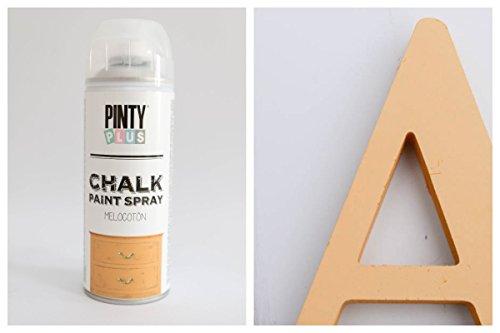 Pintyplus Chalk Sprühfarbe 400ml - GELB PFIRSICH, 0,6