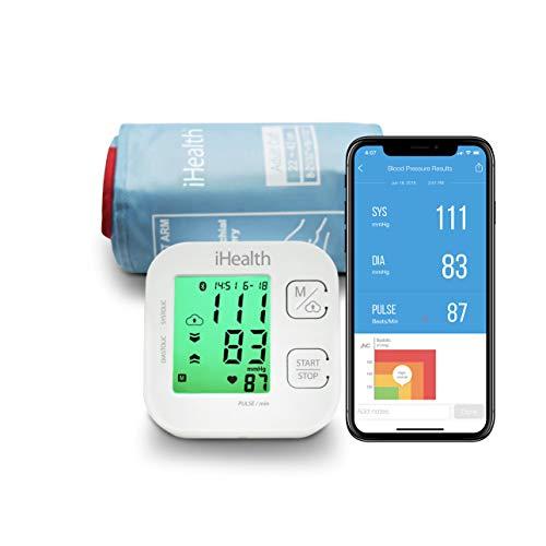 iHealth KN-550BT - TRACK Smart Blood Pressure Monitor, blanco