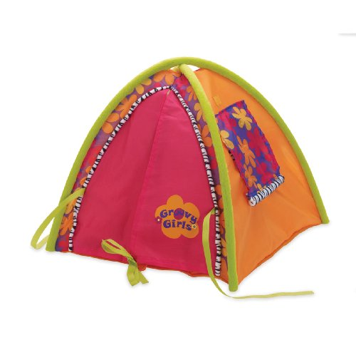 Manhattan Toy Groovy Girls 12 Inch Dolls Camping Tent Doll Accessories Play Room Dollhouse Accessories