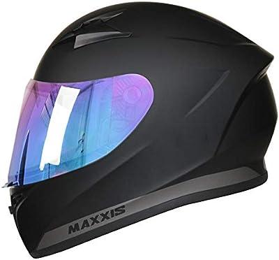 63-64cm Leopard LEO-813 Full Face Motorbike Helmet DOT /& ECE 22.05 Approved #02 Black XXL
