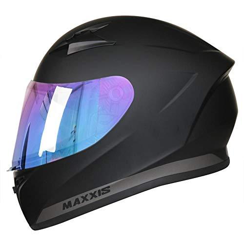 Leopard LEO-813 Full Face Motorbike Motorcycle Helmet Road Legal + Extra...