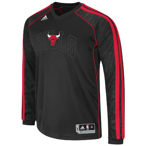 NBA Chicago Bulls On-Court Shooting Jersey, Large