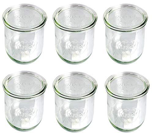 Spülmaschinengeeignetes und luftdichtes Weck-Glas