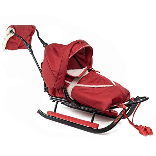 Babyschlitten Kinderschlitten Piccolino-City (Rot)