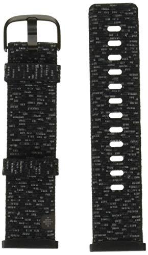 Fitbit Unisex-Adult Versa 3/Sense Watch Strap, Dunkelgrau, Large