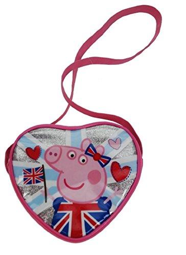 Peppa Pig Cross Body Bag Porte-monnaie, 18 cm, Rose (Pink)