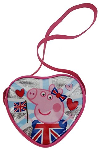 Peppa Pig Cross Body Bag Porte-monnaie, 18 cm, Rose (Pink)
