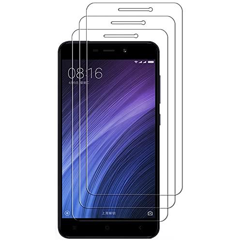 iGlobalmarket (Pack 3 Unids) Protector Pantalla para Xiaomi Mi6 Mi 6, Vidrio Cristal Templado, dureza 9H, sin Burbujas, antiarañazos