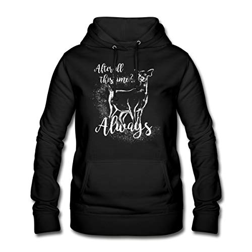 Harry Potter After All This Time Always Frauen Hoodie, L, Schwarz
