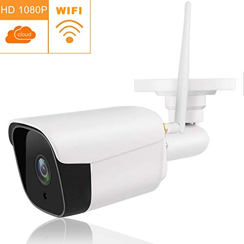 NOBRAND 1080P Wireless WiFi Full HD Network Camera, Security Camera IP66 Waterproof Camera Outdoor Surveillance P2P Night Vision CCTV Camera Support TF Card Smart camera monitor