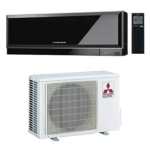 Climatizzatore 12000 Btu, Inverter, Classe A+++/A++ Gas R32, colore Nero MSZ-EF35VGB Linea Kirigamine Zen
