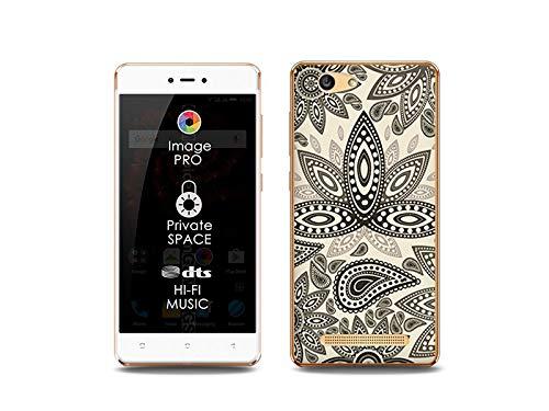 etuo Handyhülle für Allview X3 Soul Lite - Hülle, Silikon, Gummi Schutzhülle Fantastic Case - Indische Muster