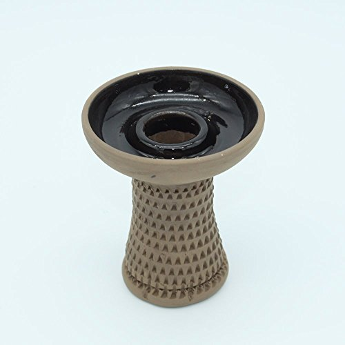 Cazoleta barro rugoso cachimba shisha premium fumar