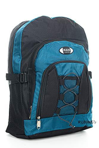 Ormi Zaino per Sport Viaggio Scuola Lavoro per MacBook PRO, iPad e Notebook 963/7492 (Azzurro, Piccolo)