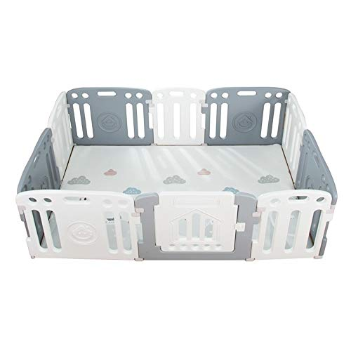Review Of X/L Children's Playpen Activity Center Safety Play Yard Foldable Portable HDPE Indoor and ...