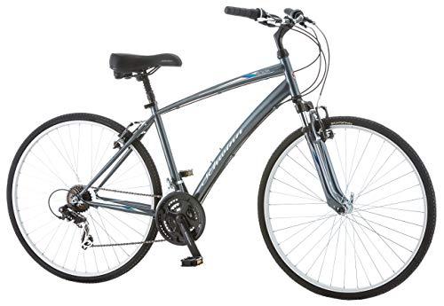 41g7K8 Schwinn Discover Hybrid Bike for Men and Women