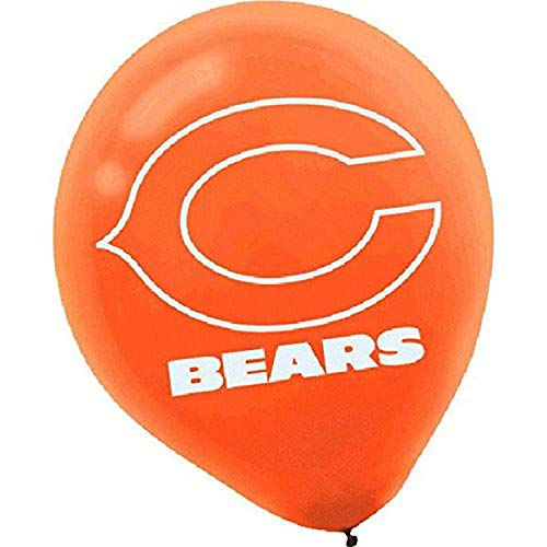 Chicago Bears Collection Printed Latex Balloons, Party Decoration