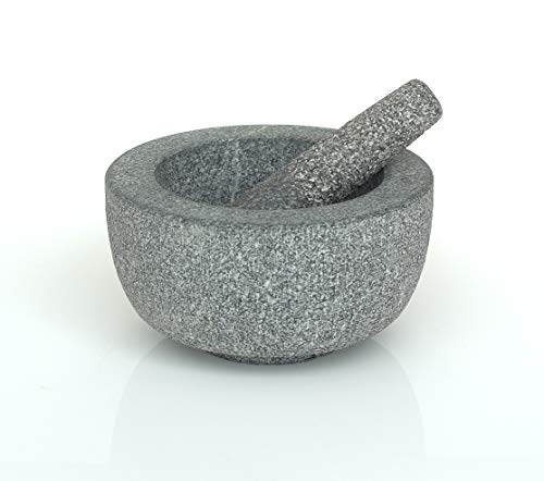 VICTOR Stößel und Mörser, Granit, 20cm, Grau