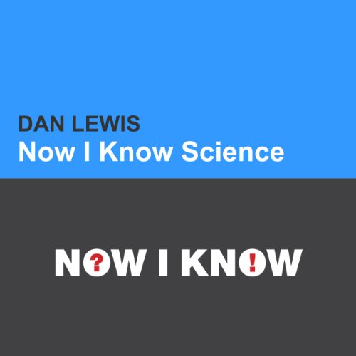Now I Know Science cover art