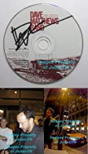 Dave Matthews Autographed Signed Memorabilia The Gorge Live Cd Disc with Proof with JSA COA Band