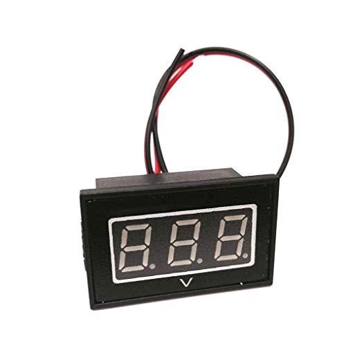 Guangcailun 48V Golf Cart Digitalvoltmeter Batterieanzeige Ersatz für Club Car EZGO 48 Volt Blau