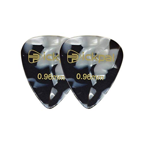 CHOUREN Pendant Necklace 10pcs 0.96mm Guitar Picks Guitar Bass Ukulele Stringed Instrument Picks for Girls and Guys Player