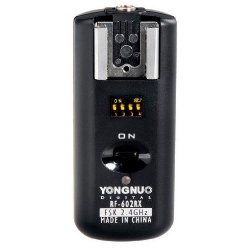 Yongnuo RF-602RX Wireless Flash Receiver para Canon Nikon Pentax OlymPUs