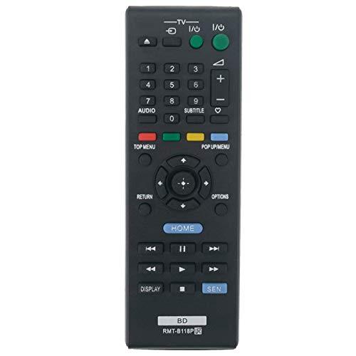 VINABTY Sostituzione telecomando RMT-B118P per SONY sistema Home Cinema Blu-ray BDP-BX18 Bdp-bx186 Rmt-b109c Bdp-bx185 BDP-S186 BDPS185 BDPBX18 BDPS186