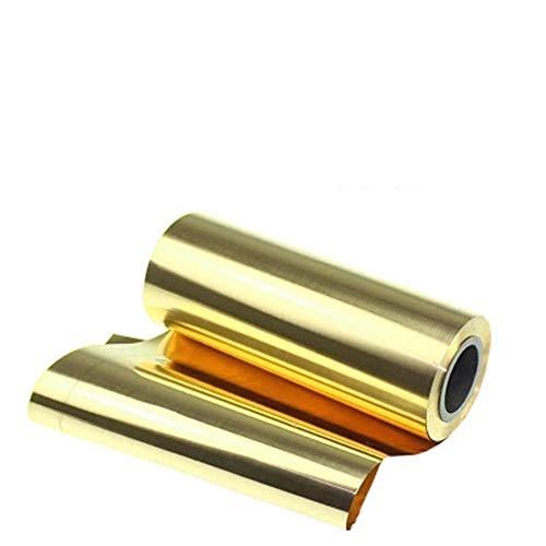 Lámina de latón dorado de lámina de latón H62 placa de latón 0,7 x 200 x 1000 mm