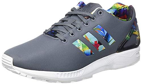 adidas Herren ZX Flux Sneakers, Grau (Grigio/Multicolor) 42 2/3